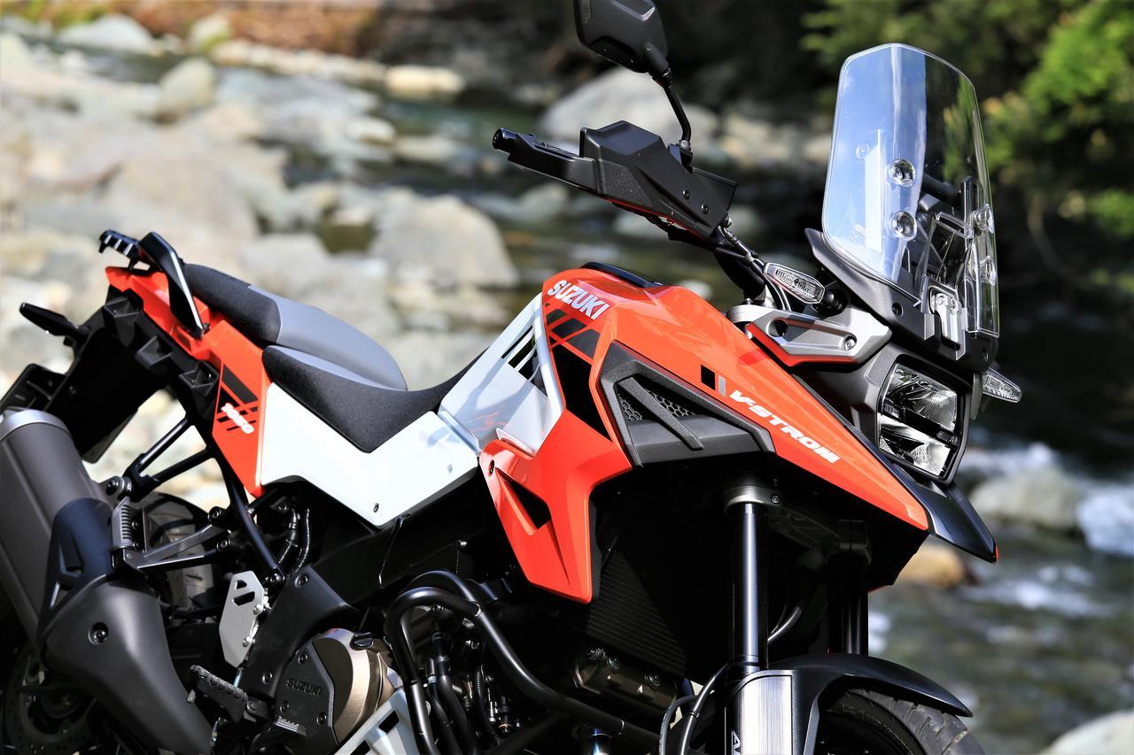 画像2: 旅バイクとしての新型Vストローム1050