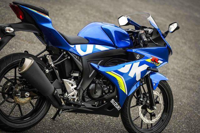 画像: 原付二種/125ccのスーパースポーツ