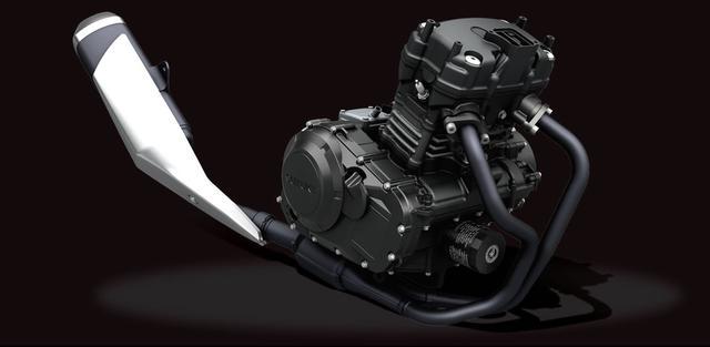画像2: GSX250Rはロングストローク設計のエンジンを採用