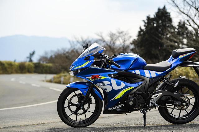 画像2: 【前編】スズキの『GSX-R125』って、いま手に入る最強の原付二種で最速の125ccじゃないか?- スズキのバイク!