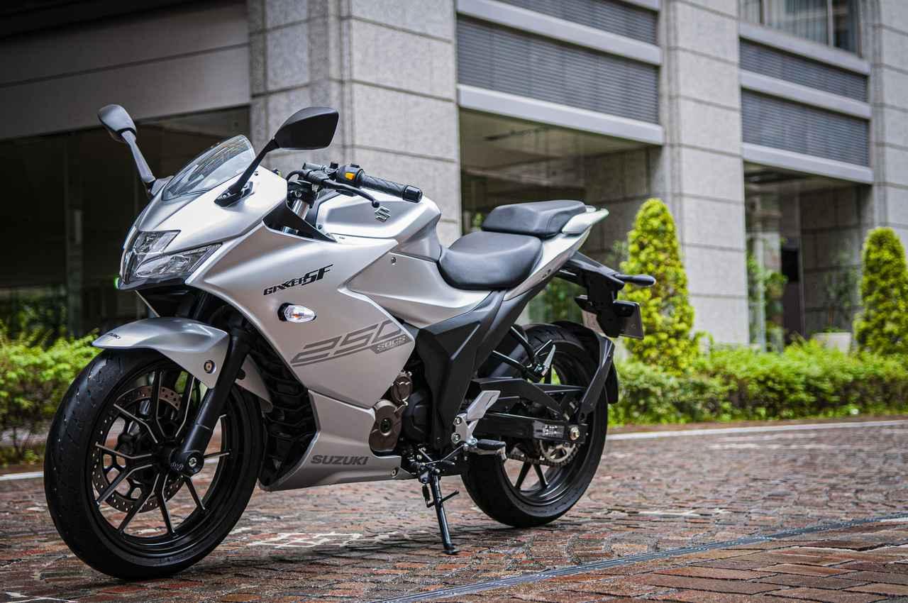 画像1: 250ccのフルカウルスポーツバイクとして『ジクサーSF250』は軽い