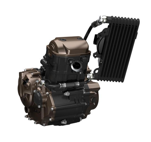 画像: 話題を呼んだ復活の油冷エンジン