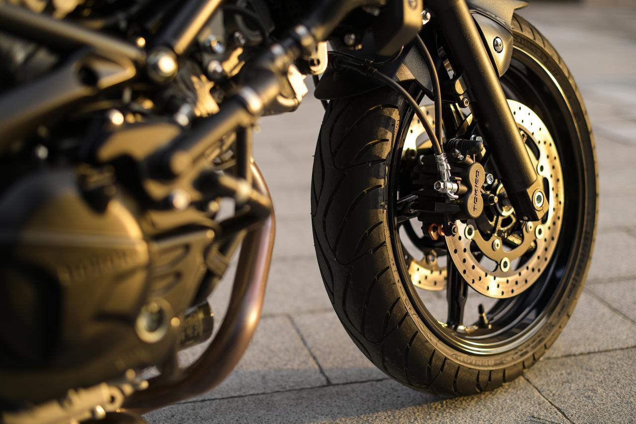 画像4: ただし『SV650X』は見た目以上にガチのバイク!