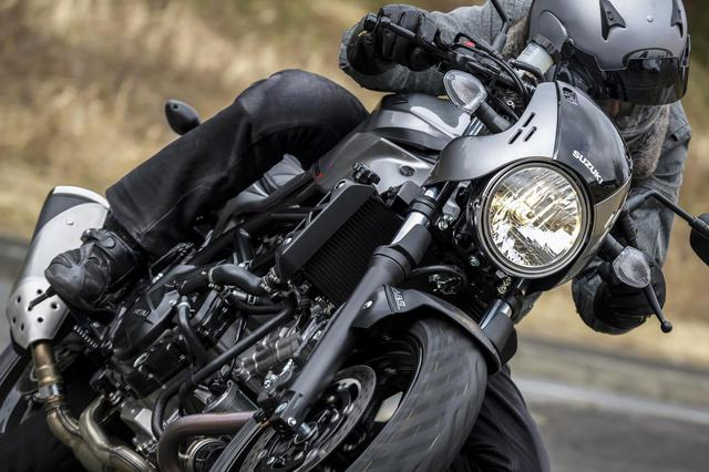 画像1: ただし『SV650X』は見た目以上にガチのバイク!