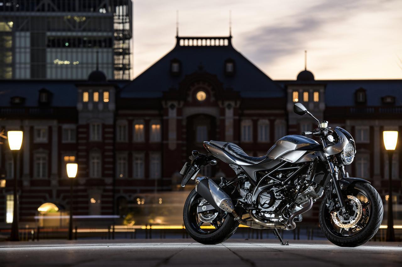 画像: スズキの『SV650X』って大型バイクとしてどうなの?