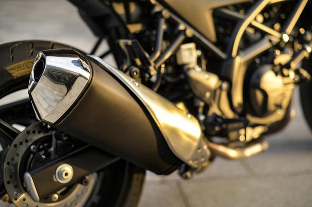 画像3: ただし『SV650X』は見た目以上にガチのバイク!
