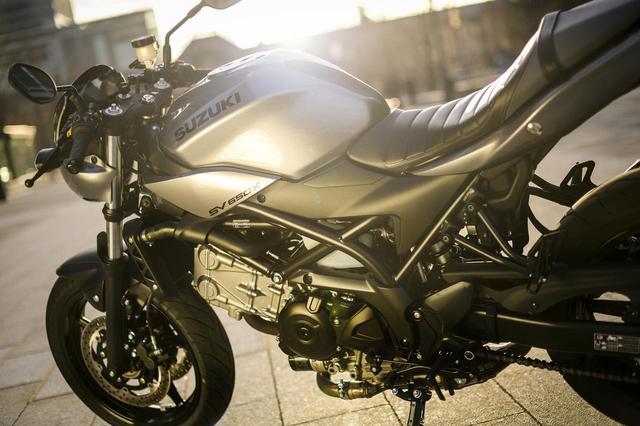 画像5: ただし『SV650X』は見た目以上にガチのバイク!
