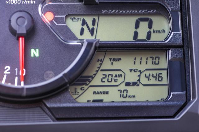 画像4: キツい『帰り道』でVストローム650が底力