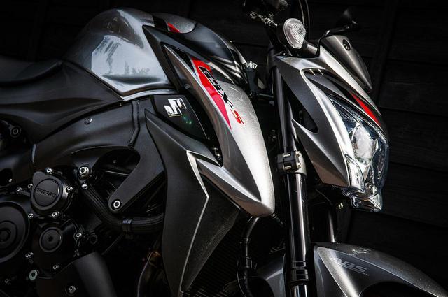 画像1: GSX-S1000はアップハンドルのスーパースポーツ?