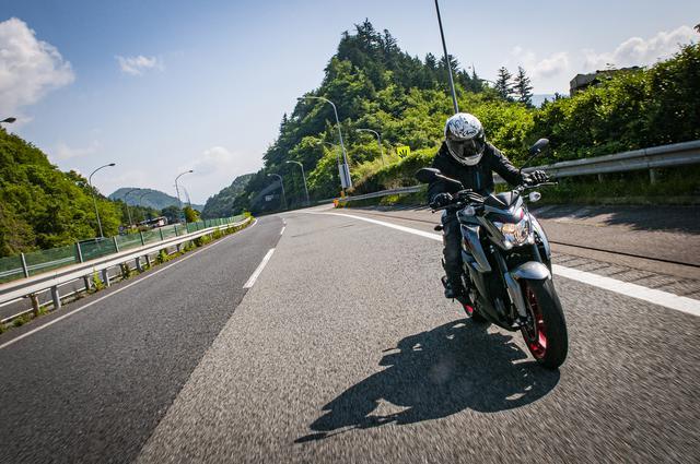 画像3: GSX-S1000の高速道路は『大人の自制心』が試される