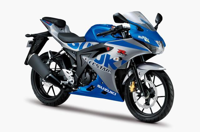 画像: 原付二種/125ccスポーツバイクのスズキ『GSX-R125』に100周年記念カラー!