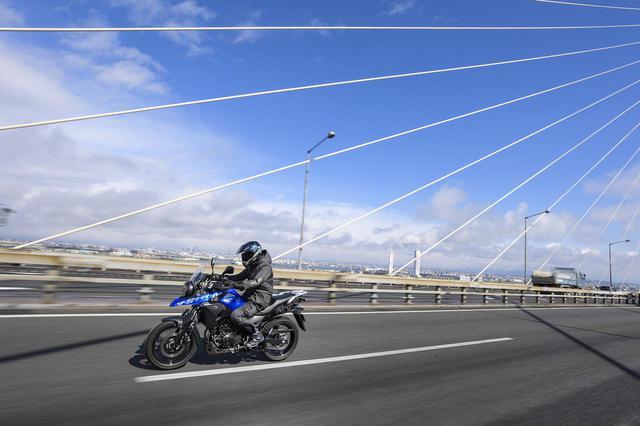 画像3: Vストローム250の快適性は250ccのバイクとは思えない
