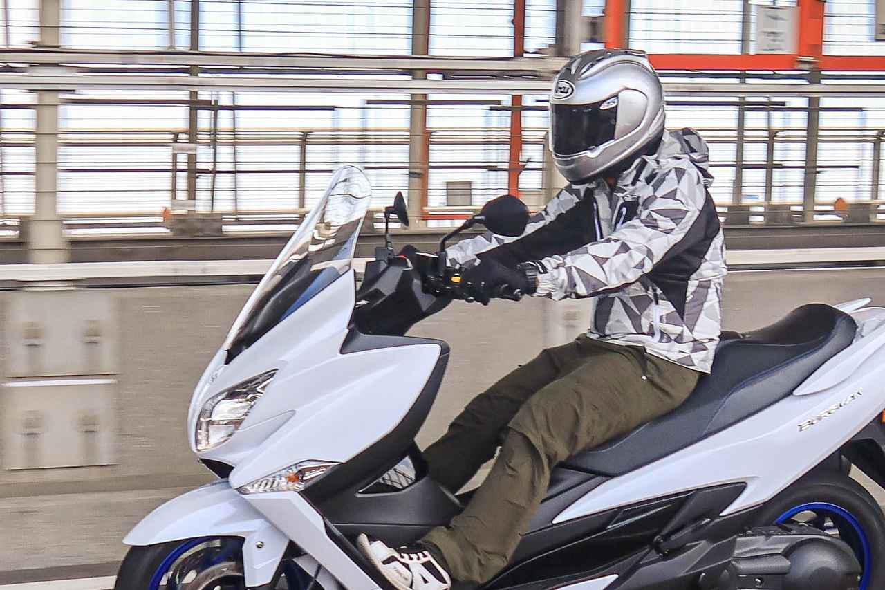 画像4: 400ccグランツーリスモと言えるスズキのバーグマン400
