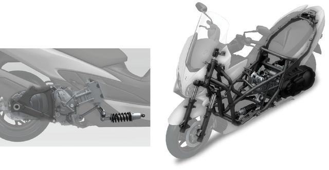 画像1: ②操縦安定性が高いフレーム構造