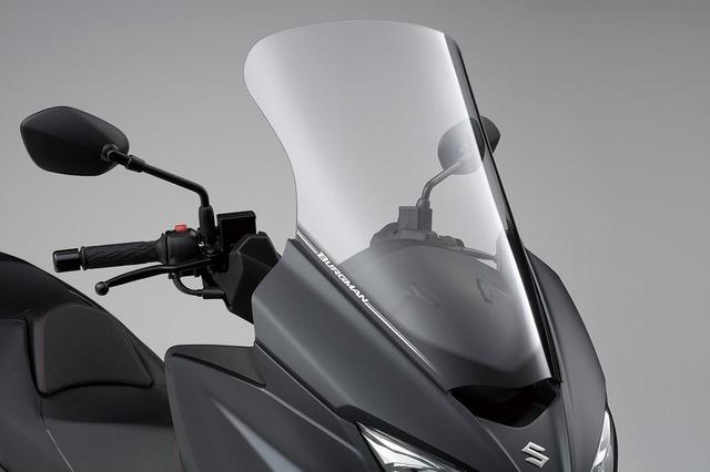 """画像1: 《高速&タンデム編》バーグマン400の""""400ccスクーター""""ならではの快適性は、街乗りよりもツーリングが本領?【個人的スズキ最強説/SUZUKI BURGMAN400 試乗インプレその③ 】"""
