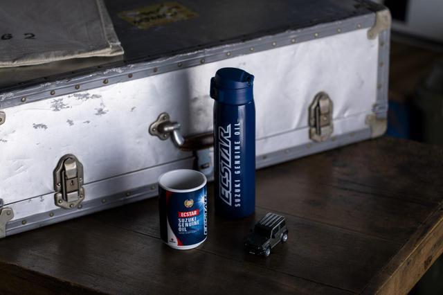 画像: 【油冷派もOK!】スズキ乗り用の冷却水タンク。夏でも走るライダーの水分補給にいかがでしょう?