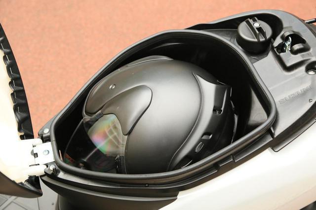 画像2: 50ccスクーターとして申し分なし!スズキ『レッツ』の装備と特徴