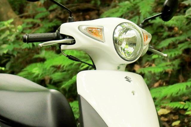画像1: 50ccスクーターとして申し分なし!スズキ『レッツ』の装備と特徴