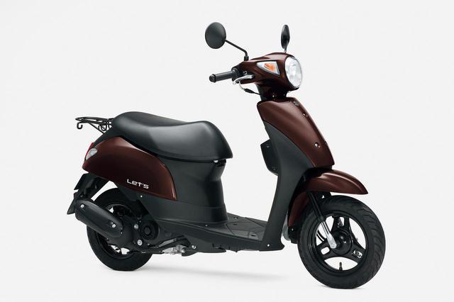 画像: レッツの2020年モデルで追加されたカラーは「スウィートブラウンNo.2」。