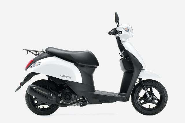 画像8: 《投票してね》スズキの50cc原付スクーター『レッツ』 2020年モデルのカラーはどれが好き?【穴が空くまでスズキを愛でる/レッツ 試乗インプレ④】