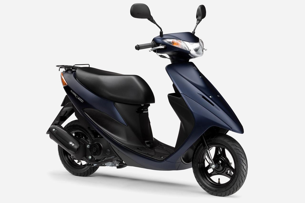 画像2: スズキ原付50ccスクーターの3機種ぜんぶ知ってる? おすすめの50ccバイクはどれ?【穴が空くまでスズキを愛でる/レッツ 試乗インプレ①】