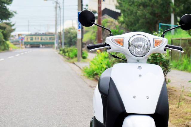画像2: 50cc原付バイクにしか通れない道もある!