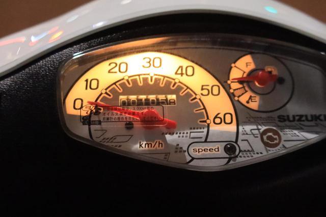 画像: オドメーター105.8kmからスタート。