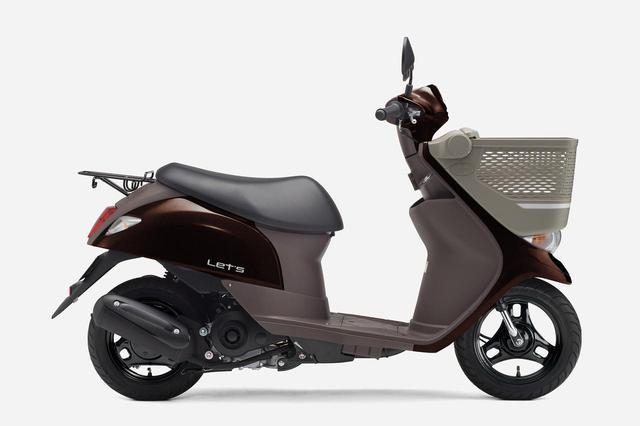 画像10: 《投票してね》スズキの50cc原付スクーター『レッツ』 2020年モデルのカラーはどれが好き?【穴が空くまでスズキを愛でる/レッツ 試乗インプレ④】