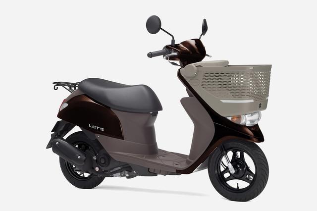 画像4: スズキ原付50ccスクーターの3機種ぜんぶ知ってる? おすすめの50ccバイクはどれ?【穴が空くまでスズキを愛でる/レッツ 試乗インプレ①】