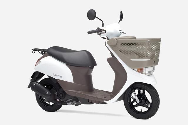 画像19: 《投票してね》スズキの50cc原付スクーター『レッツ』 2020年モデルのカラーはどれが好き?【穴が空くまでスズキを愛でる/レッツ 試乗インプレ④】
