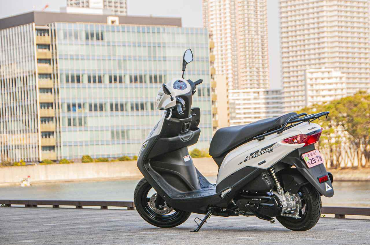 画像: 125ccスクーターの王道。性能もコスパも『アドレス125』なら間違いない! - スズキのバイク!