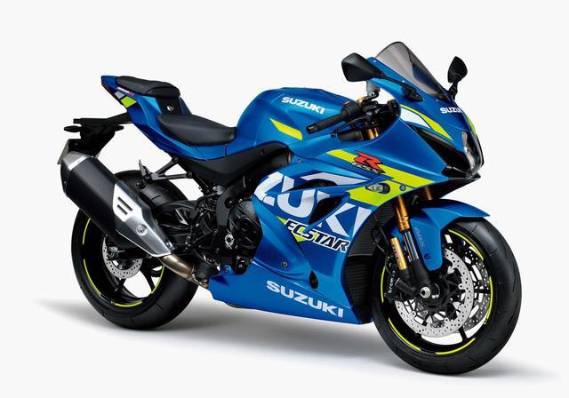 画像1: もはや鉄板ともいえるブルーの『GSX-R1000R』も展開