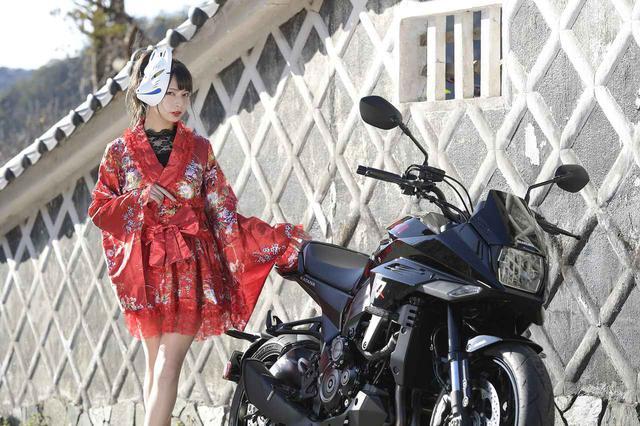 画像: 葉月美優×KATANA【女子ライダーのPHOTO GRAVURE】 - スズキのバイク!
