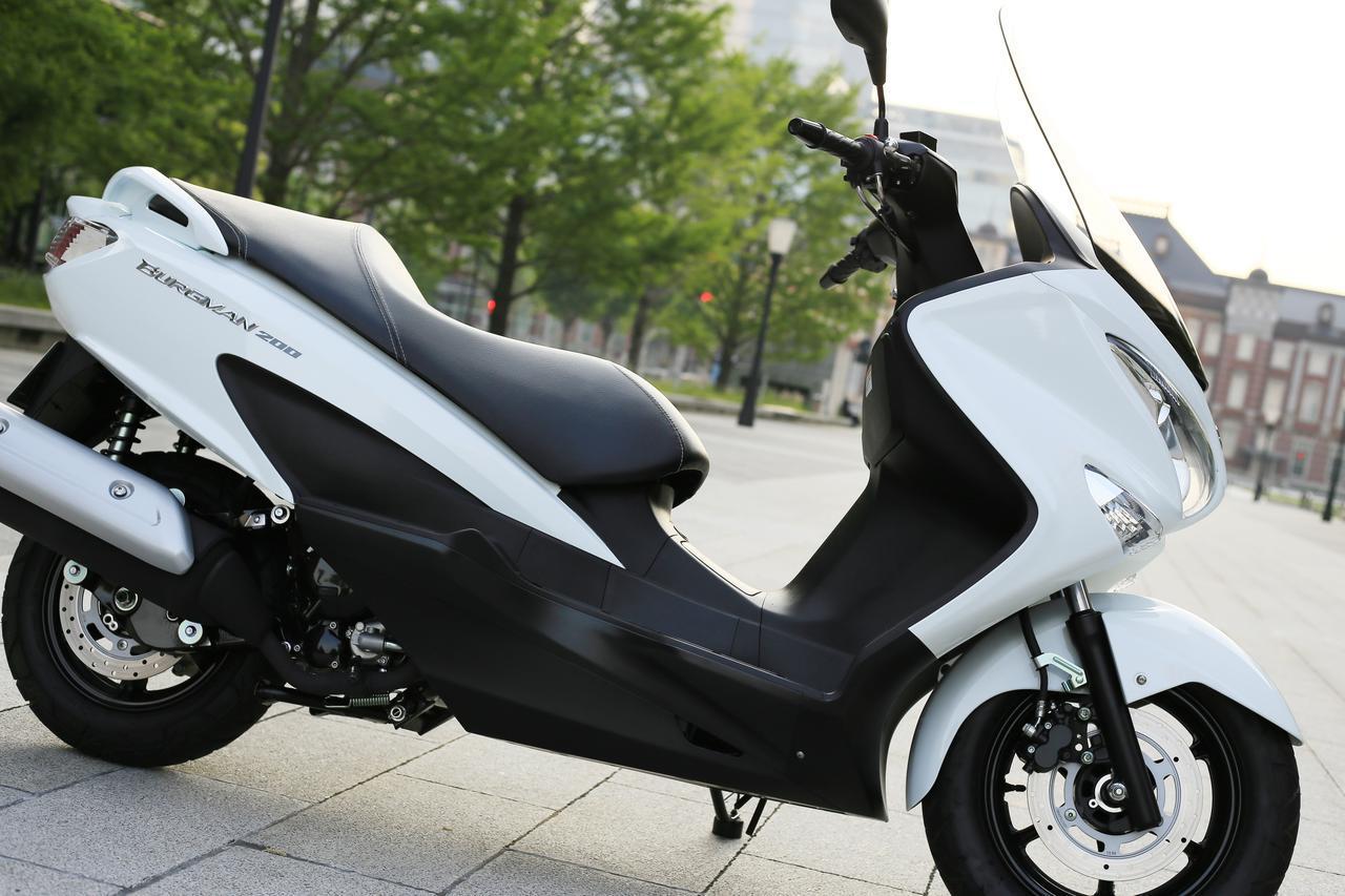 画像: バーグマン200は『街乗りスクーター』としての理想かも……