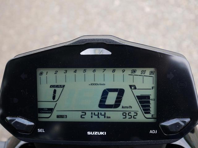 画像2: ジクサー150で高速道路を3時間走った後に