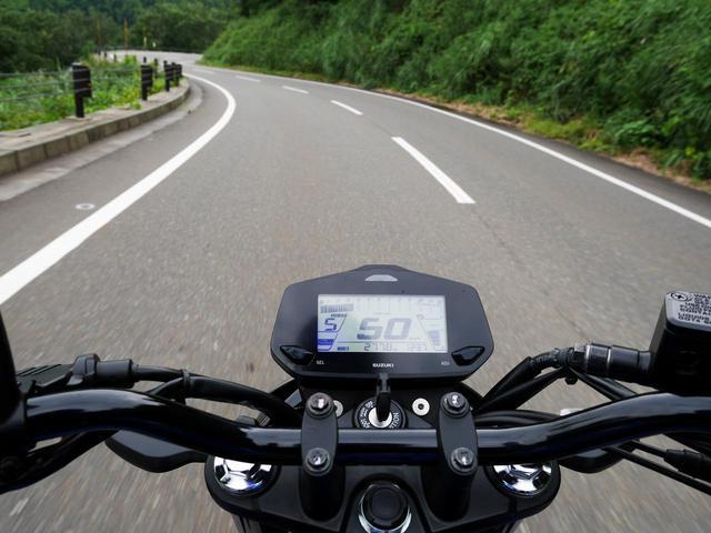 画像1: 高速道路を含めジクサー150の燃料を順調に消費
