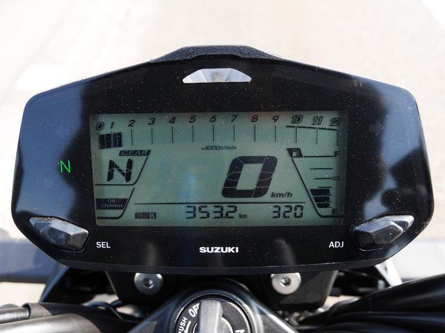 画像3: 5速4000回転あたり。時速60kmフラットのジクサーは……