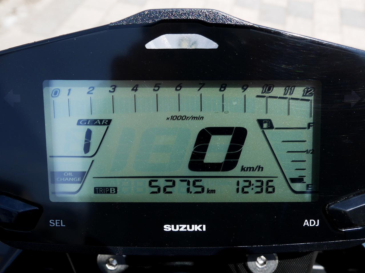 画像5: ジクサー150は満タンで航続距離500km以上が確定!