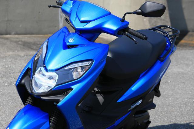 """画像: 原付二種スクーターの『違いがわかる人』にこそおすすめしたい。この125ccはバイクとして""""こだわり""""の塊です!  - スズキのバイク!"""
