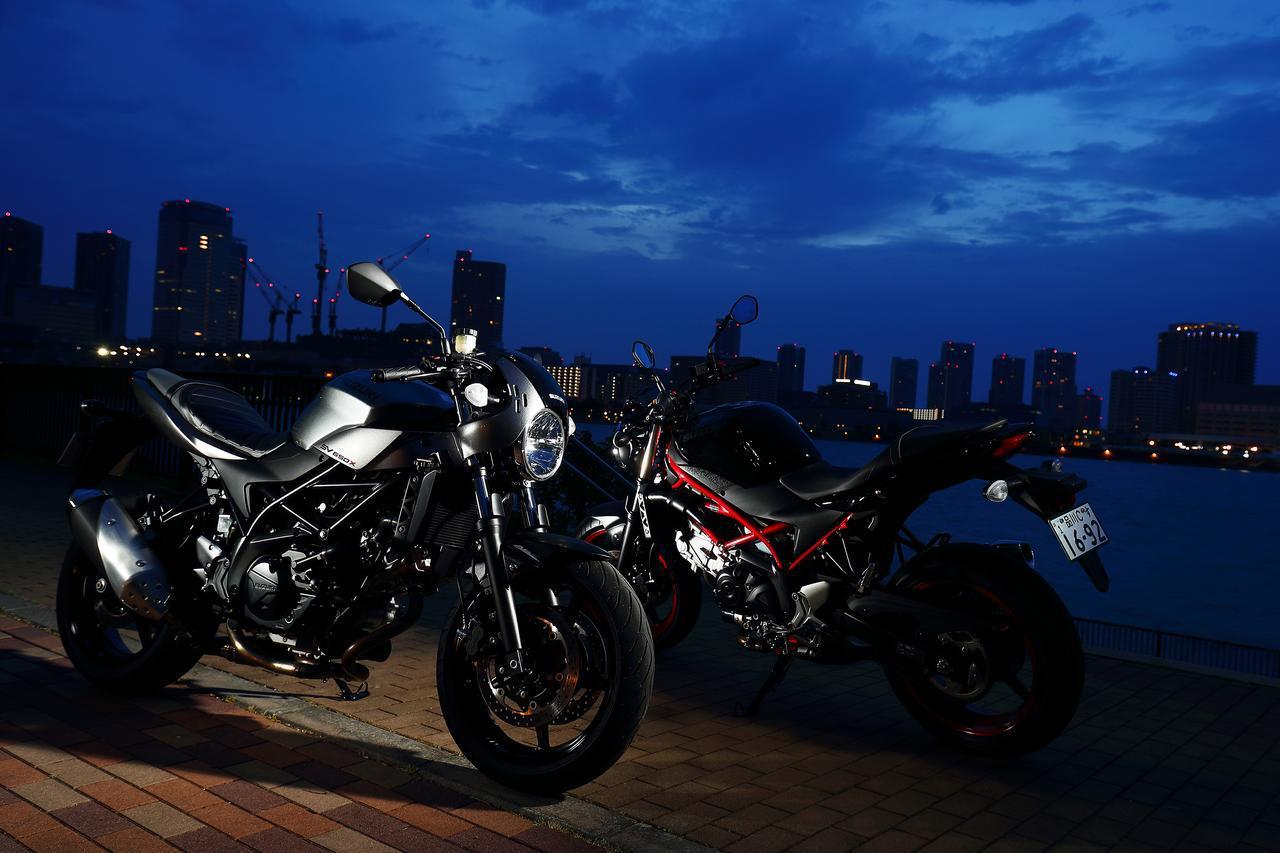 画像: スズキ『SV650』っていうバイクはスポーティさだけで判断できない