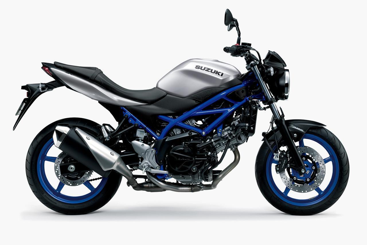 画像1: スズキの大型バイク『SV650』と『SV650X』はどっちがおすすめ? コスパも良いけど、それだけじゃない!【SUZUKI SV650/SV650X 比較インプレ・前編】