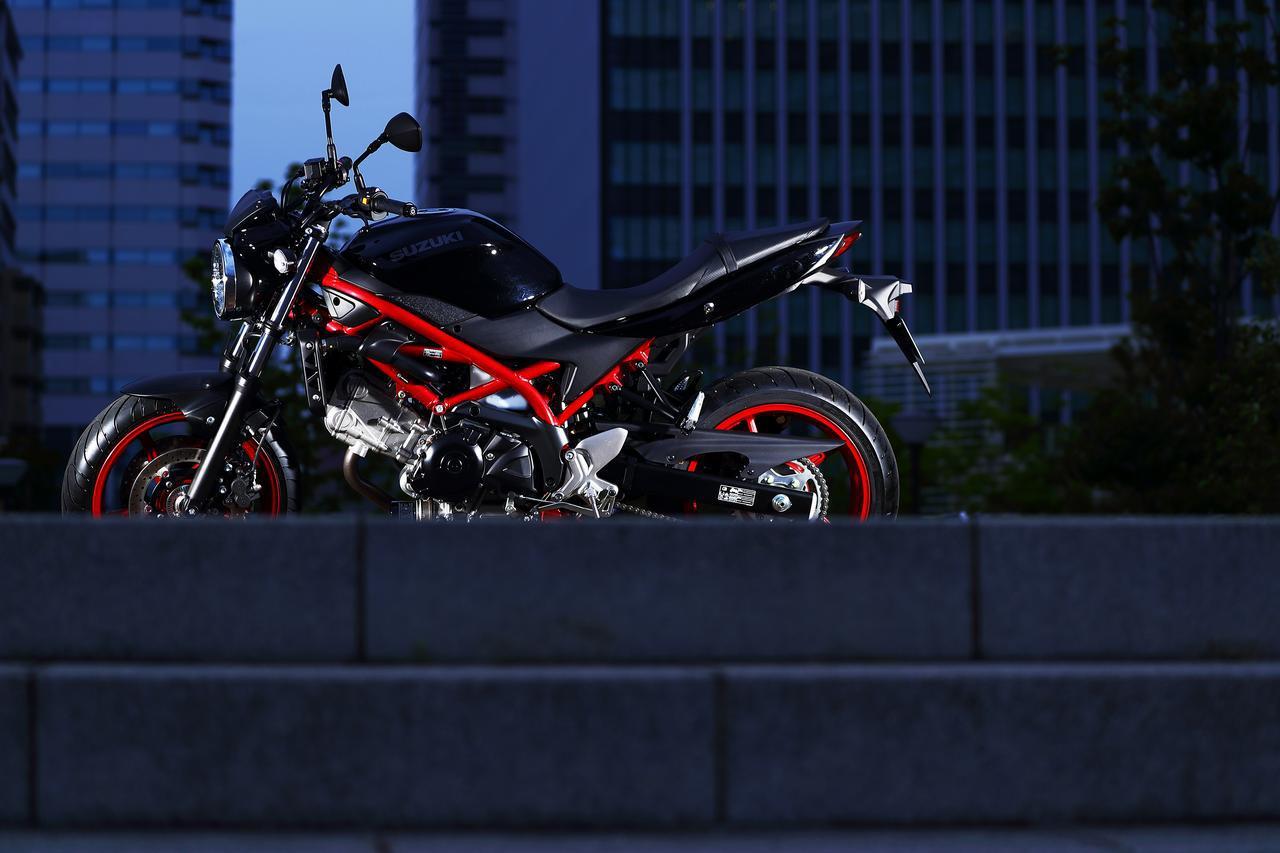 """画像2: 『SV650』も『SV650X』も最後は""""走り""""で勝負するバイク!"""