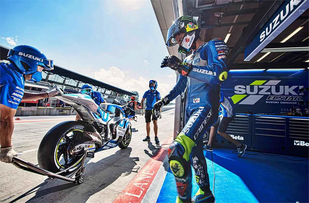 画像: MotoGP第6戦は前回に続き波乱の展開。その中でスズキは……