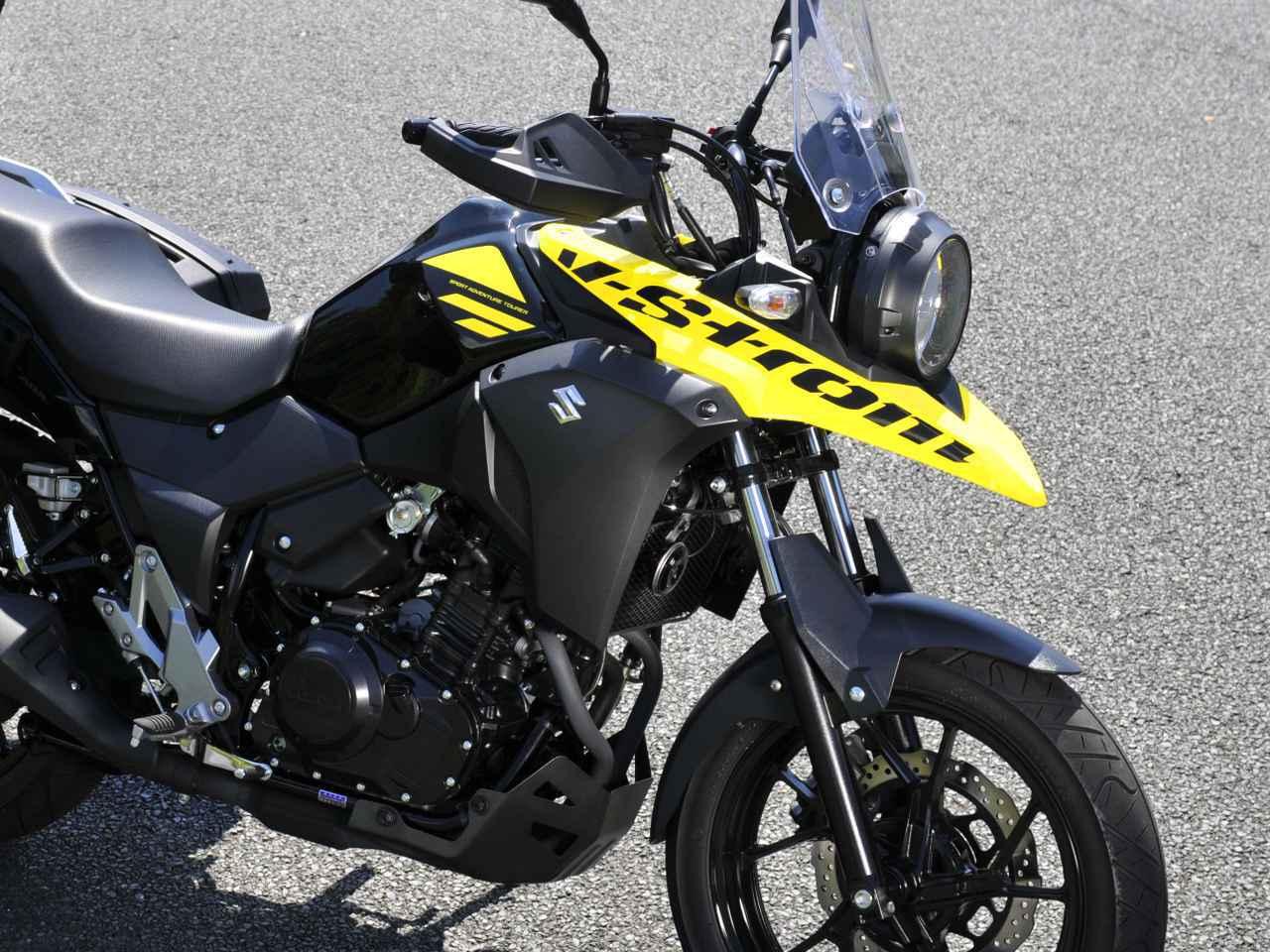 画像1: スズキのバイクのカウルには『謎の穴』が空いている