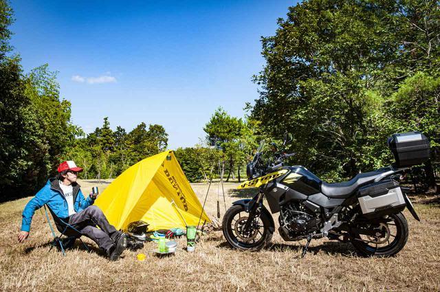 画像1: バイクキャンプも余裕! スズキ『Vストローム250』の実力がこれだ!
