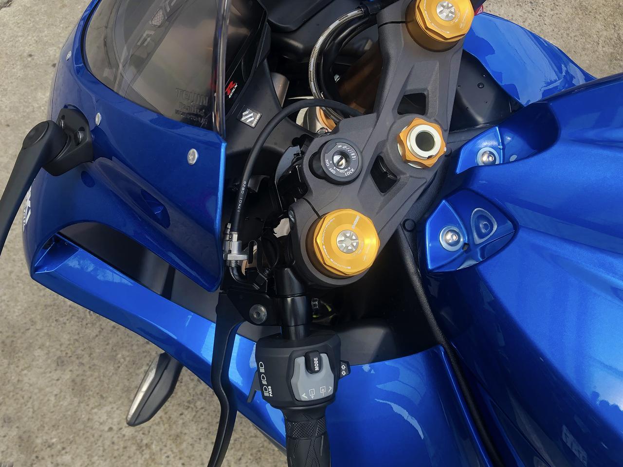 画像4: スズキのバイクにある『謎の穴』の正体は?【スズキ アルティメットクイズ⑦/難易度☆☆】