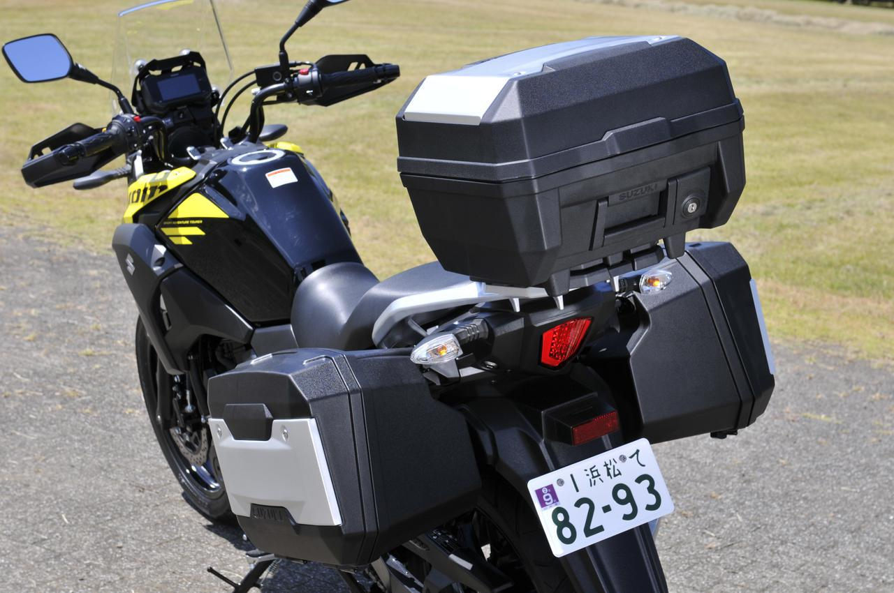 画像3: Vストローム250の走りは荷物で変わる?