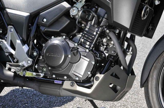 画像2: Vストローム250のフロントタイヤとエンジンが本領発揮