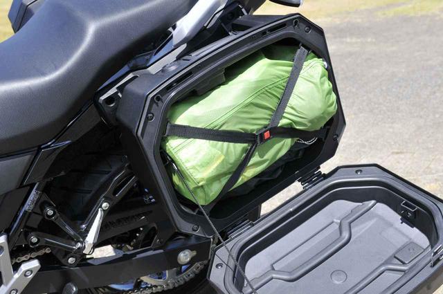 画像4: スズキ『Vストローム250』でバイクキャンプ用品を満載してみる!