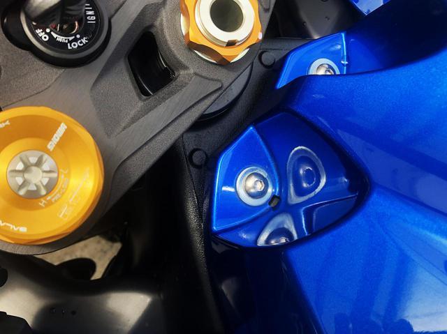 画像5: スズキのバイクにある『謎の穴』の正体は?【スズキ アルティメットクイズ⑦/難易度☆☆】